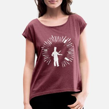Kitchen Knives Chef Knives - Women's Roll Cuff T-Shirt