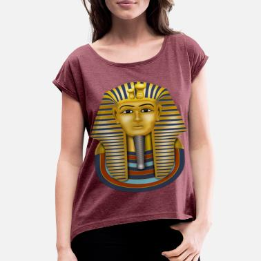 King Tut tutankhamun 1 - Women's Rolled Sleeve T-Shirt