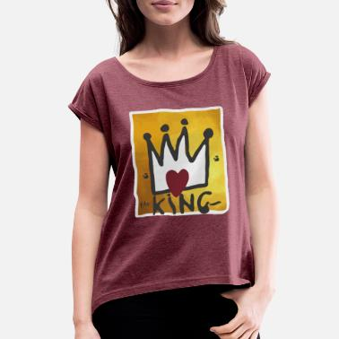 Mcgregor McGregor King Selling out fast - Women's Roll Cuff T-Shirt