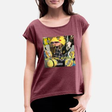 Love Minion WE LOVE MINIONS - Women's Roll Cuff T-Shirt