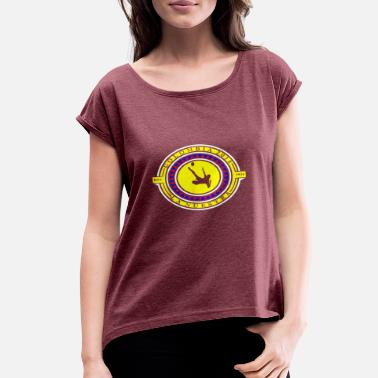 Soccer Striker Colombia Soccer Striker - Women's Rolled Sleeve T-Shirt