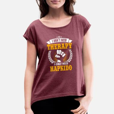 Hapkido Hapkido - Women's Rolled Sleeve T-Shirt