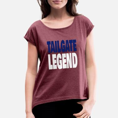 Tailgate TAILGATE LEGEND - Women's Rolled Sleeve T-Shirt