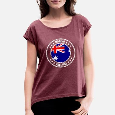 Adelaide MADE IN ADELAIDE - Women's Roll Cuff T-Shirt