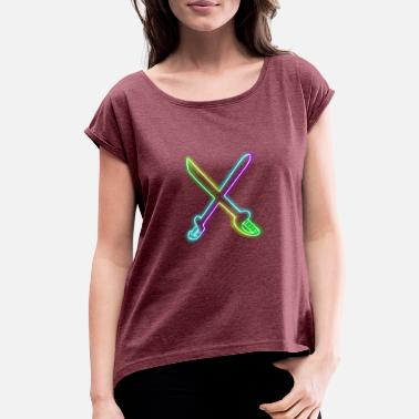 Sword SWORD - Women's Rolled Sleeve T-Shirt