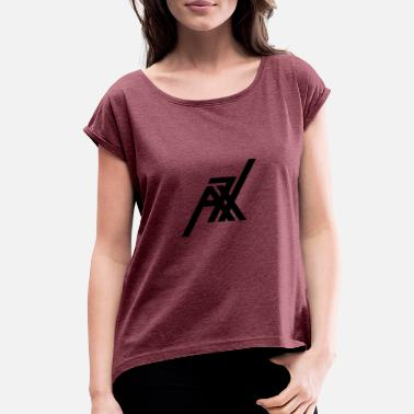 Rock Band rock band - Women's Rolled Sleeve T-Shirt