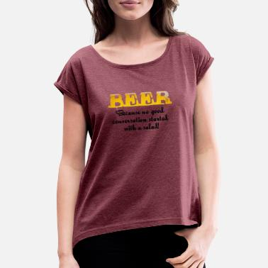 Beer - Women's Rolled Sleeve T-Shirt