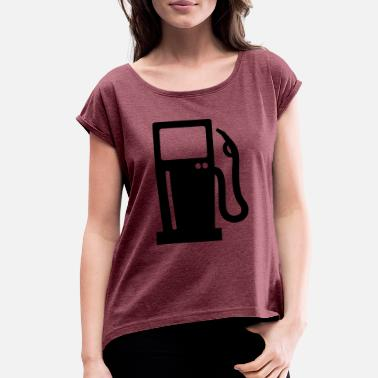 Gas Station Gas station - Women's Rolled Sleeve T-Shirt