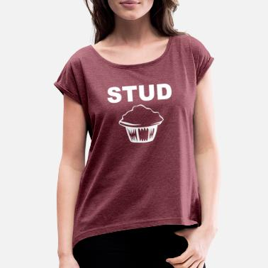 Studs Stud - Women's Rolled Sleeve T-Shirt