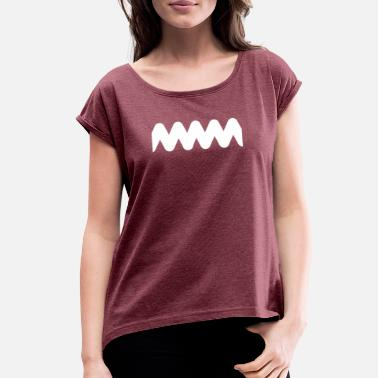 Charlie Brown Charlie Brown - Women's Roll Cuff T-Shirt