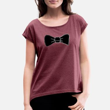 Bowties Bowtie - Women's Rolled Sleeve T-Shirt