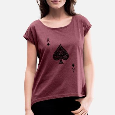 Ace Of Spades ace of spades - Women's Rolled Sleeve T-Shirt