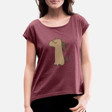 Pony Stall PONY - Women's Rolled Sleeve T-Shirt