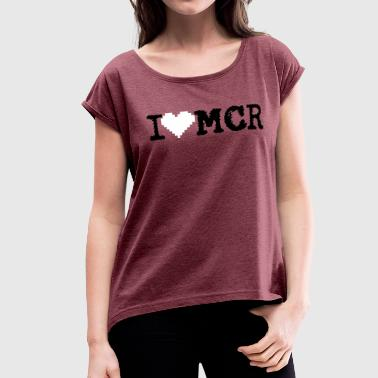 MCR LOVERS - Women's Roll Cuff T-Shirt
