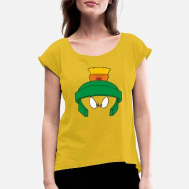 Martian marvin - Women's Rolled Sleeve T-Shirt