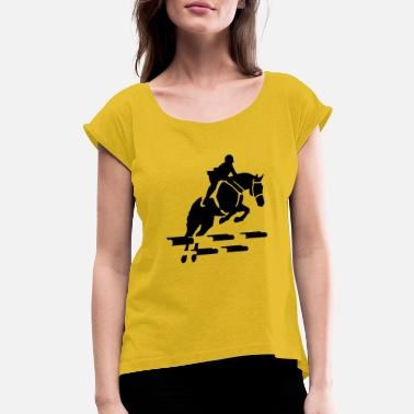 Horseman horseman - Women's Rolled Sleeve T-Shirt