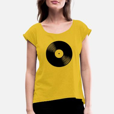 Record Record - Women's Rolled Sleeve T-Shirt