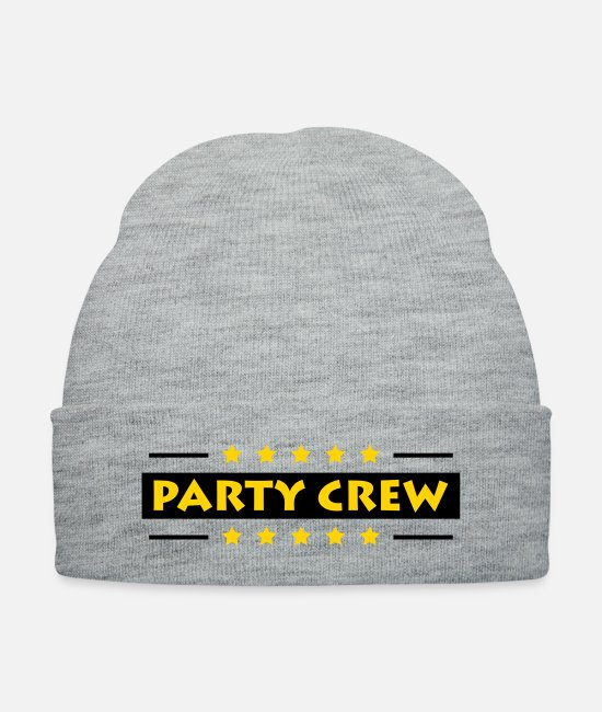 Vacation Caps & Hats - Party Crew - Knit Cap heather gray