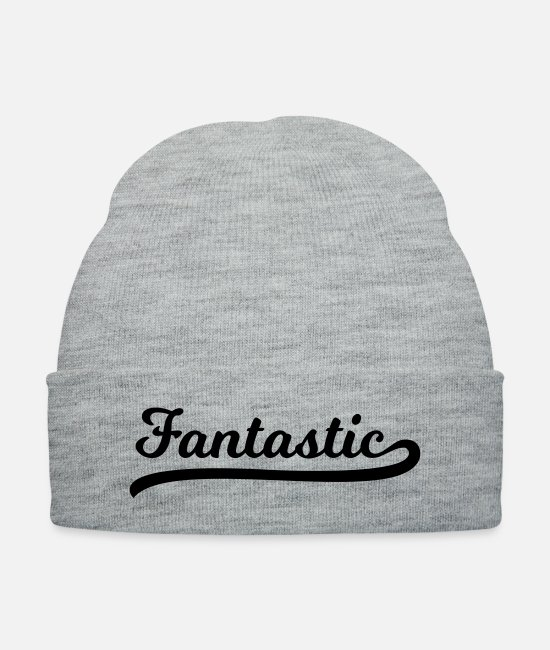 Extraordinary Caps & Hats - Fantastic - Knit Cap heather gray