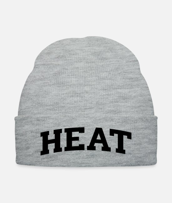 South Beach Caps & Hats - Heat-block - Knit Cap heather gray