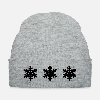 Christmas Eve Snowflake Pattern - Christmas - Knit Cap