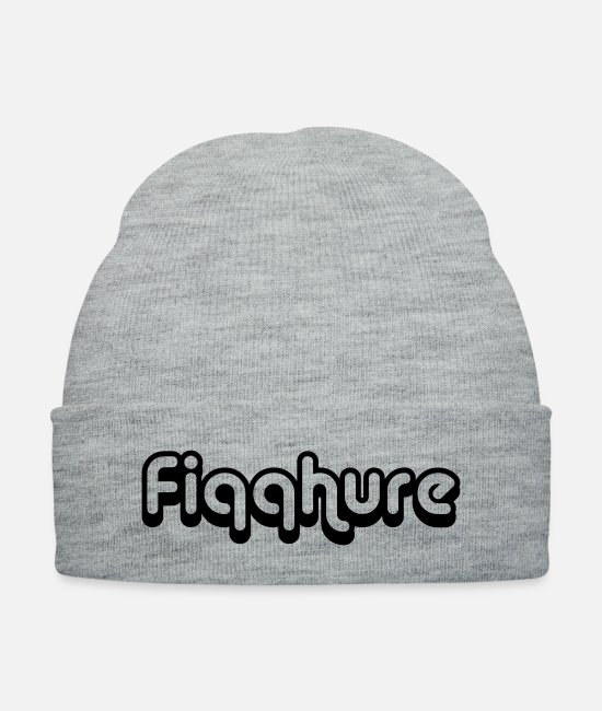Quote Caps & Hats - Fiqqhure - Knit Cap heather gray