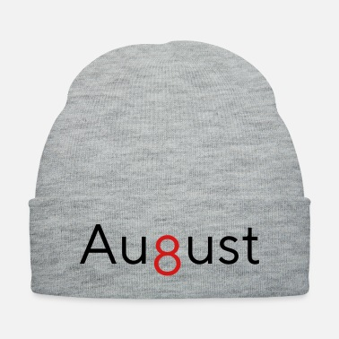 August August - 8th Month - Knit Cap