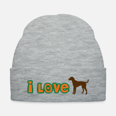 ❤↷I Love Dogs-Animal-Dog Lovers↶❤ - Knit Cap