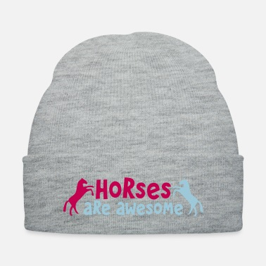 Saddle HORSES are AWESOME - Knit Cap