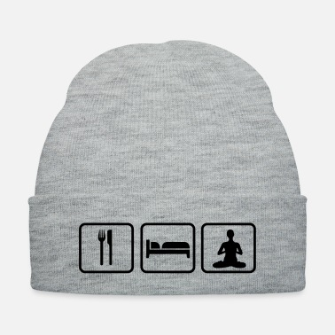 Meditation Eat Sleep Meditation - Knit Cap