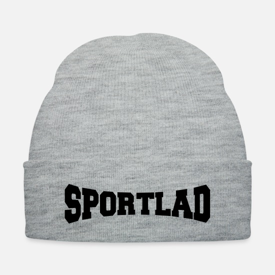 Design Caps - sportlad - Knit Cap heather gray