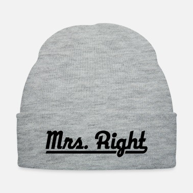 Right Mr. Right - Knit Cap