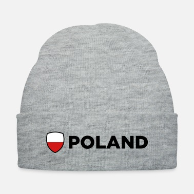 National National Flag of Poland - Knit Cap