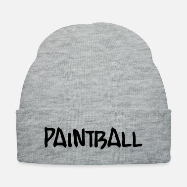 Paintball paintball - Knit Cap