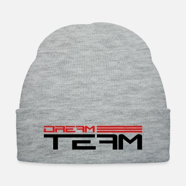 Strip Text lettering Strip friends couple couple dream t - Knit Cap