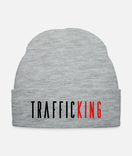 Hiphophead Caps & Hats - Traffic - Knit Cap heather gray