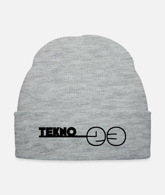 23 Caps & Hats - 230053__tekno_23 - Knit Cap heather gray