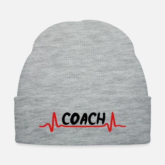 Sports Caps - Coach - Knit Cap heather gray