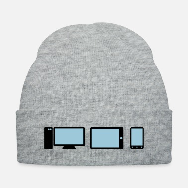 Pc PC, tablet, smartphone icons - Knit Cap