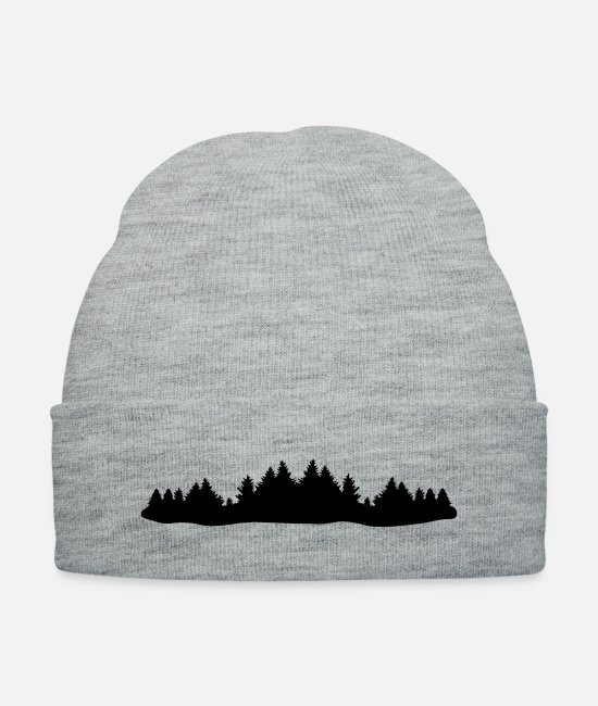 Ranger Caps & Hats - Forest - Knit Cap heather gray