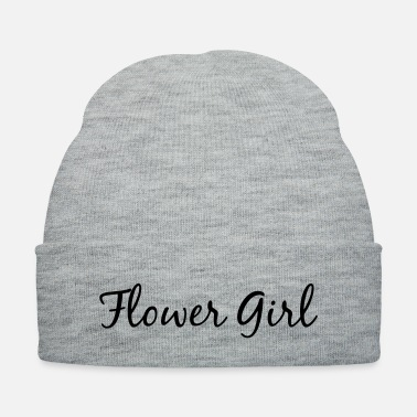 Flower Girl Flower Girl in Cursive - Knit Cap