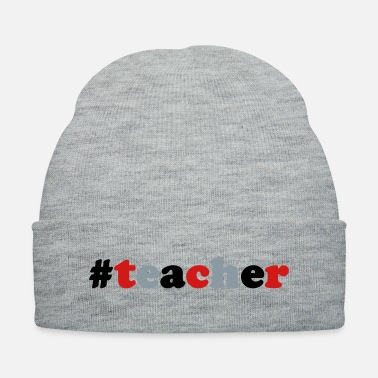 Kindergarten Hashtag Teacher school Highschool Kindergarten Fun - Knit Cap