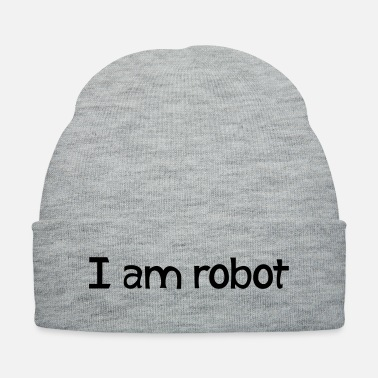 Robot I am robot - Knit Cap