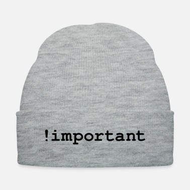 Css CSS Important Declaration - Knit Cap