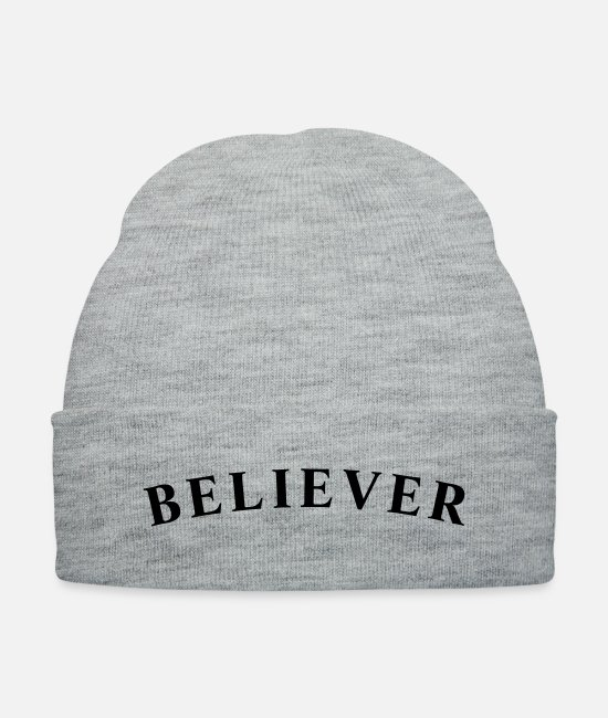Promise Caps & Hats - believer - Knit Cap heather gray