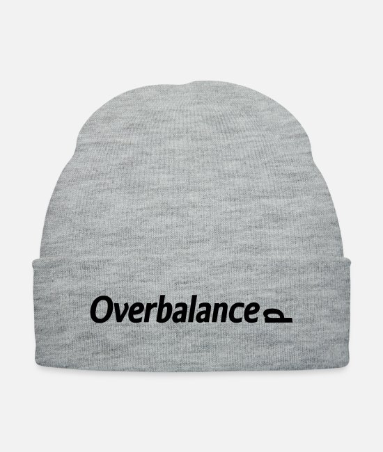 Knock Caps & Hats - Overbalanced - Knit Cap heather gray