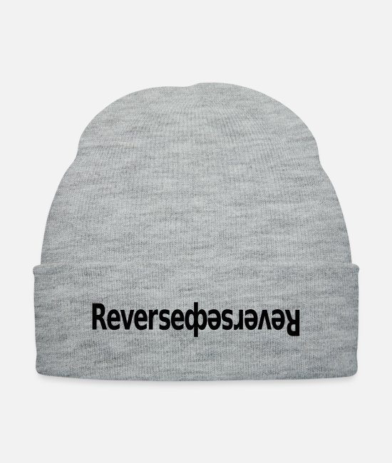 Play Caps & Hats - Reversed 2 - Knit Cap heather gray