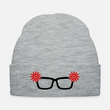 Flower Girl glasses with flowers for woman with style - Knit Cap