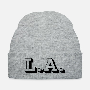 Los Angeles LA Los Angeles 3D - Knit Cap