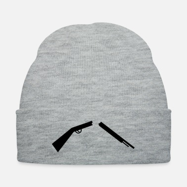 Against broken gun against weapons - Knit Cap